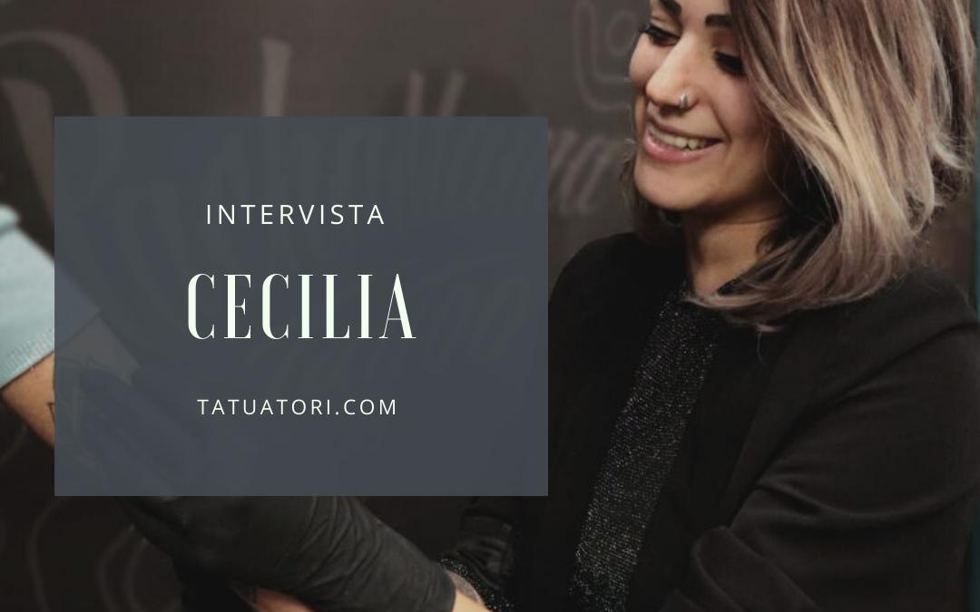 Intervista ai Tatuatori : Cecilia